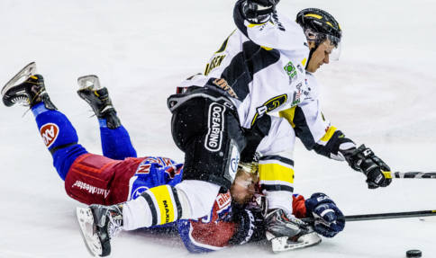 Racism-hit hockey star gets standing ovation
