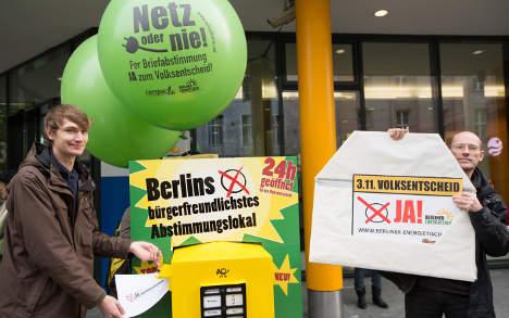 Berlin bids to put energy grid back in public hands