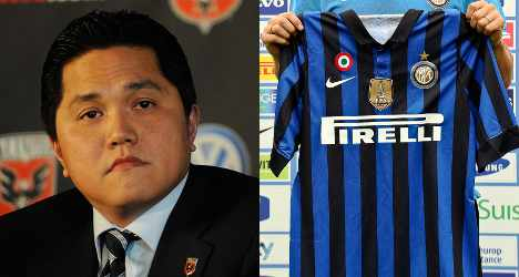 Indonesian tycoon takes over Inter Milan