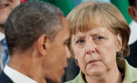 Germany believes US tapped Merkel's phone