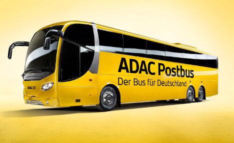 Deutsche Post and ADAC unveil bus network
