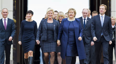 Populists left out of new Norway government