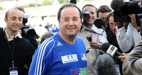 Hollande meets football chiefs for tax talks