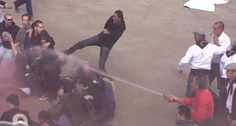 French village locks down ahead of bullfight