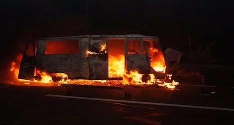 Fiery St. Gallen road crash leaves one dead