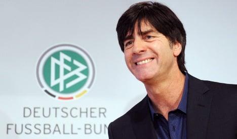 Coach Löw celebrates contract extension