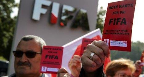 Swiss unions slam FIFA over 'Qatar slavery'