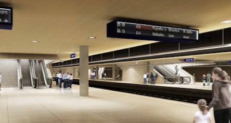Union halts underground Zurich train station work