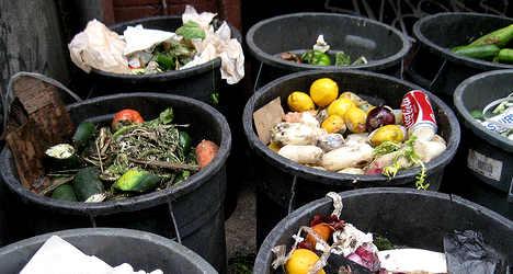 Italians bin €8.7 billion of food each year