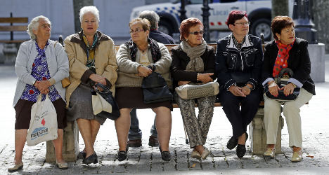 'Pensioners have saved Spain during the crisis'