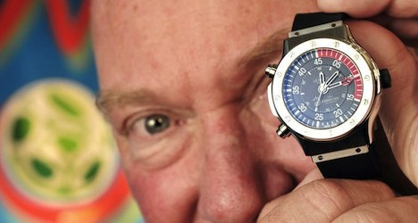 Hublot watch executive tempted by Le Temps