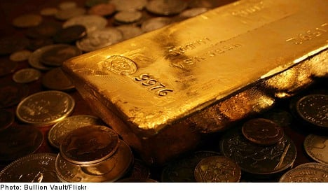 Central bank reveals location of Sweden's gold