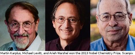 Karplus, Levitt, Warshel get Nobel chemistry nod