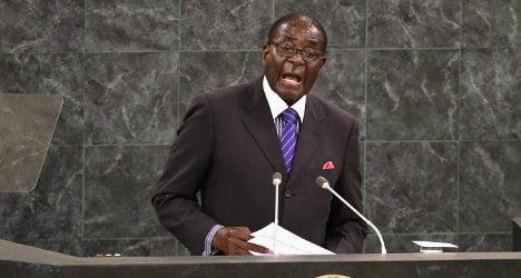 Robert Mugabe: 'I do not want French girls'