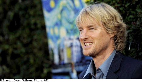 I'm having Owen Wilson's baby: Hollywood Swede