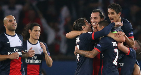 Three PSG players in the hat for 2013 Ballon d'Or