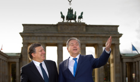 Barroso warns Germany against less austerity