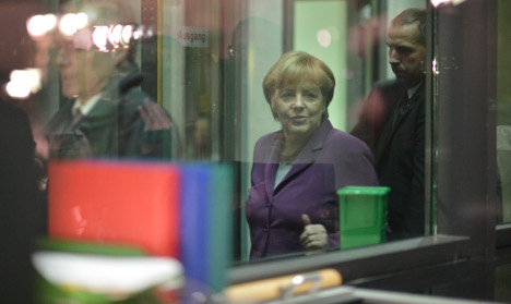 Merkel hopes for coalition within a week