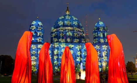 Berlin Festival of Lights – in pictures
