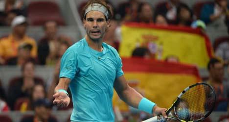 Nadal regains number one despite China loss