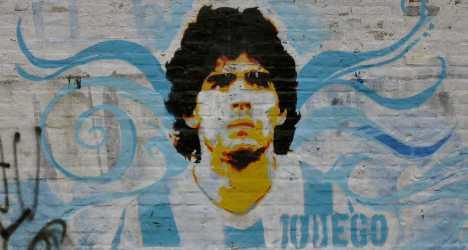 Maradona slammed with €39m tax bill in Italy