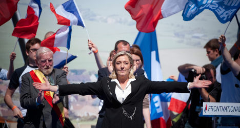 French far right in pole position for EU elections