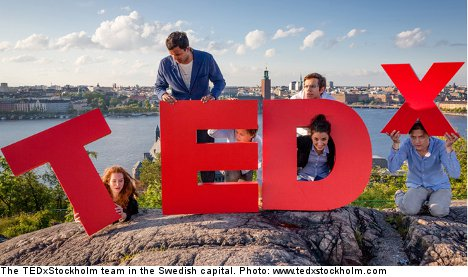 TEDxStockholm dives into 'uncharted waters'