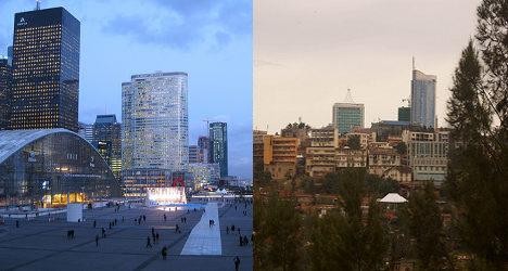 Global business: France trails US, UK and Rwanda