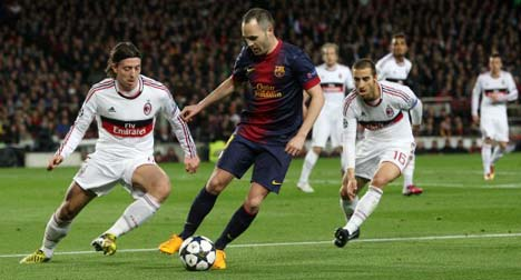 'Only perfect Milan will beat Barcelona'