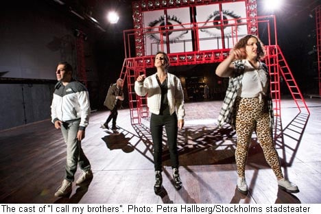 Swedish terrorist electrifies theatre stage