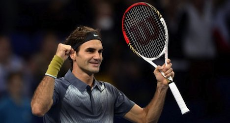 Federer to face Del Potro in Swiss Indoors final