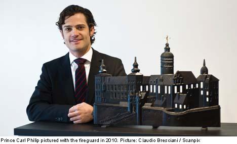 Design scandal burns Swedish prince