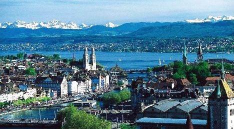 Swiss cities among top ten finance centres