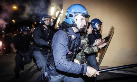 Clashes cancel Nazi war criminal's funeral