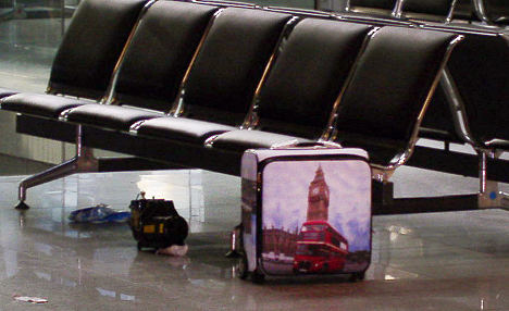 Flour and cinnamon 'bomb' shut down airport