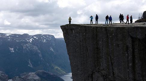 Spaniard dies in horror Norway fjord fall