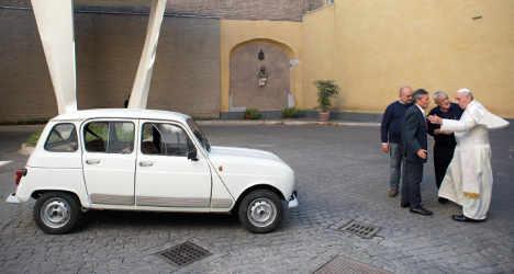 Bishops abandon their plush cars