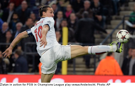 Zlatan dazzles with four goals in 'perfect game'