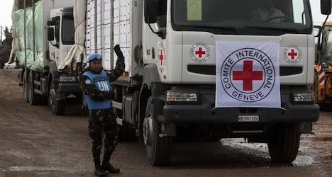 Four abducted Red Cross workers freed in Syria