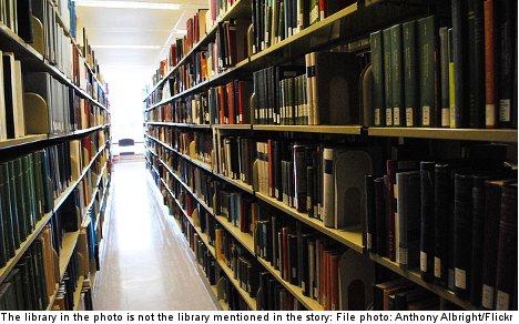 Uni bans masturbating student from library