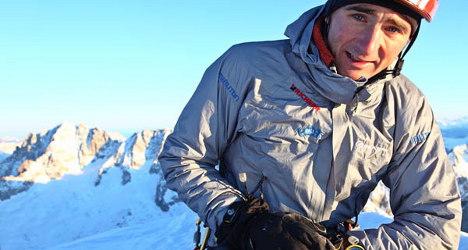 Steck celebrates 'career summit' on Annapurna