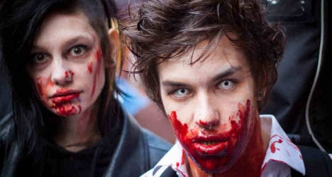 IN PICTURES: Zombies invade the City of Light