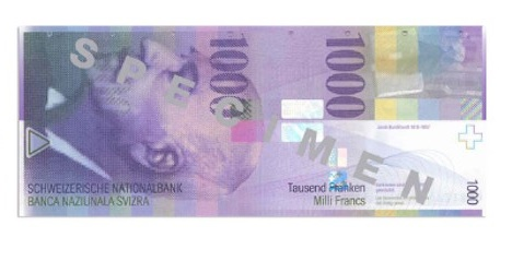 Swiss banknotes stolen from central bank printer