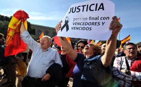 Spaniards rally against potential Eta releases