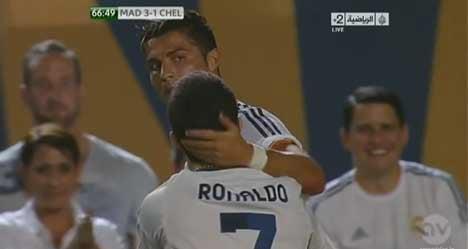 'Free fan who hugged me': Ronaldo to US judge