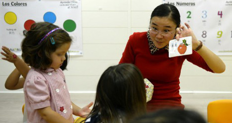 Chinese classes take off as Spaniards eye future