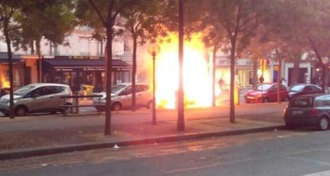 Paris Autolib' electric cars go up in smoke
