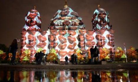 Winter's arrival to Berlin light festival – in pics
