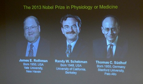 German wins Nobel Medicine Prize