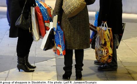 Survey: Tourists come to Sweden to shop